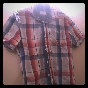 Vintage seven diamonds plaid men's shirt
